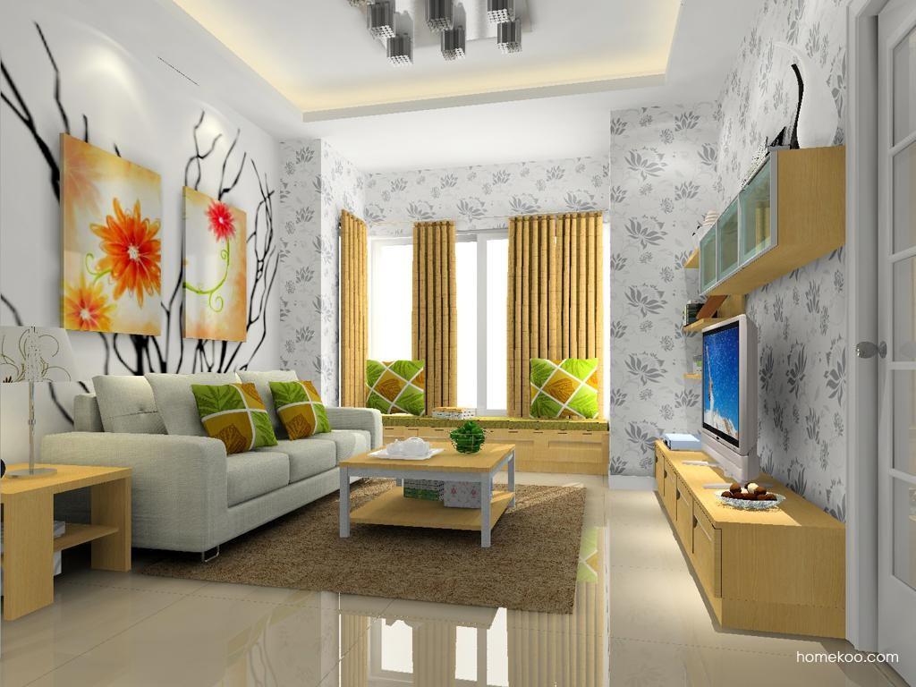 丹麦本色客厅家具D12143