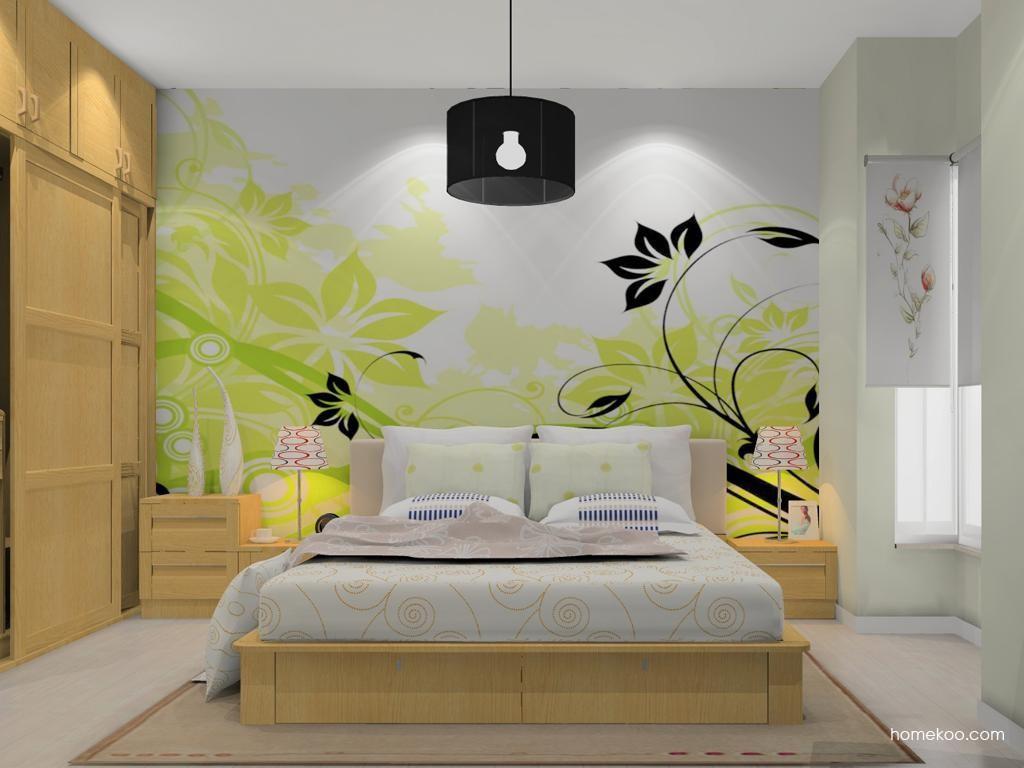 丹麦本色卧房家具A13481
