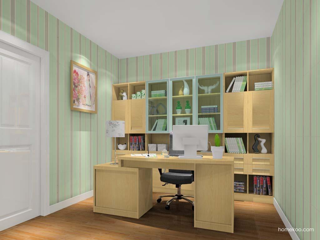 丹麦本色书房家具C10988
