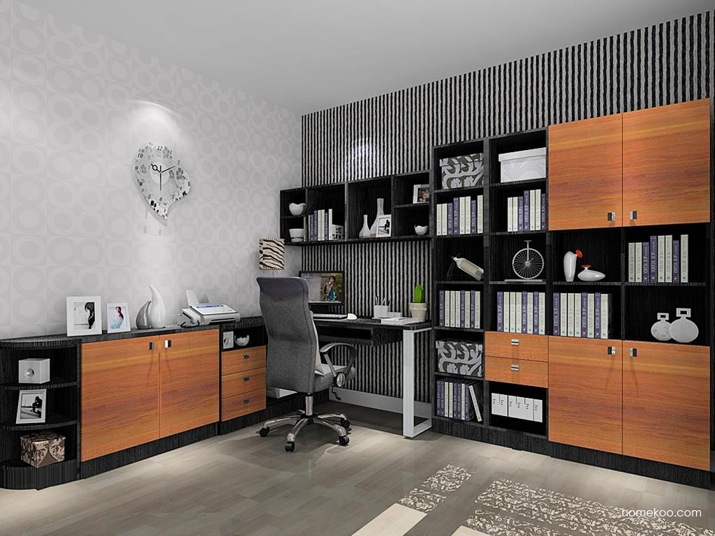 德国森林书房家具C10993