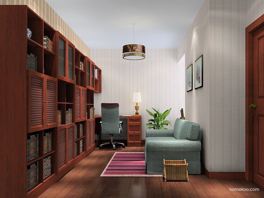 新中式主义书房家具C10997