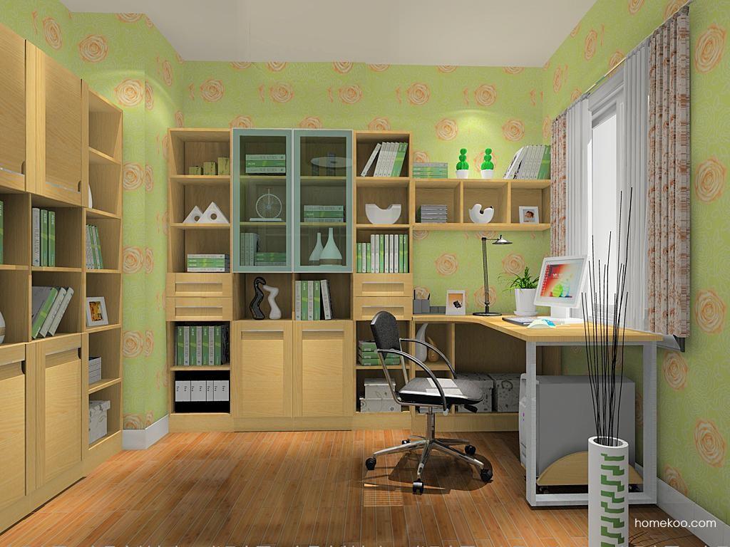 丹麦本色书房家具C11020