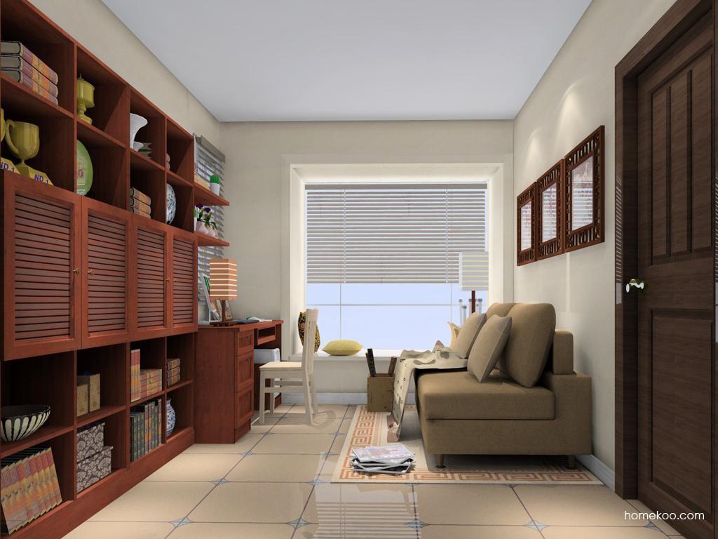 新中式主义书房家具C11027