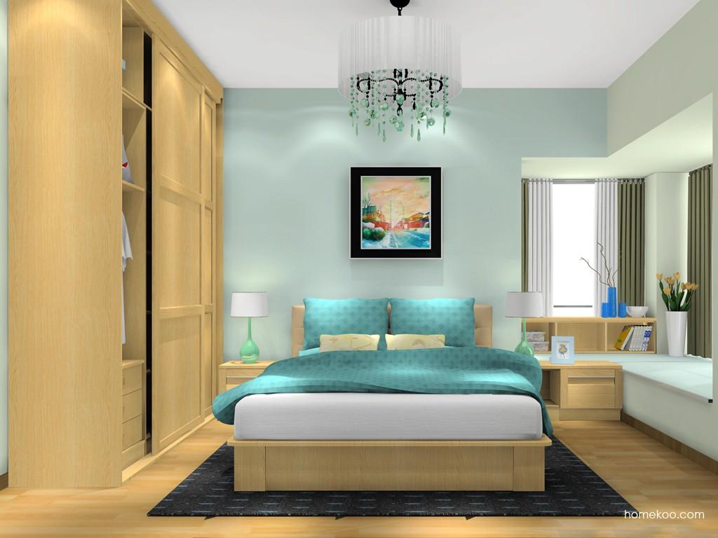 丹麦本色卧房家具A13525