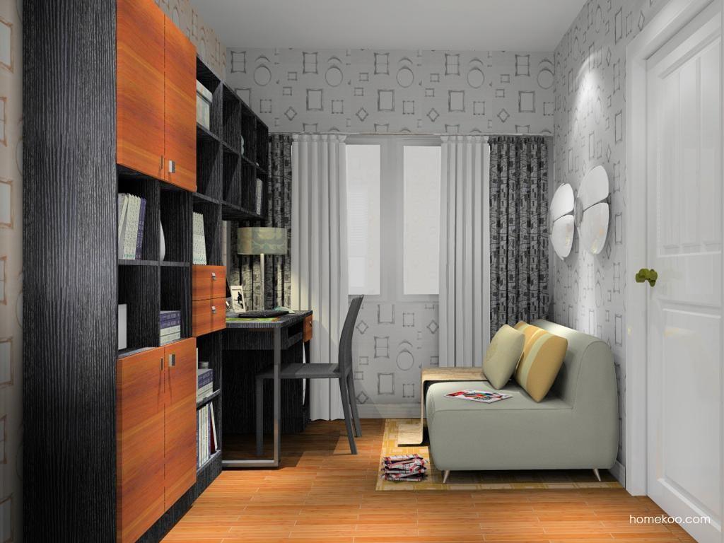 德国森林书房家具C11034