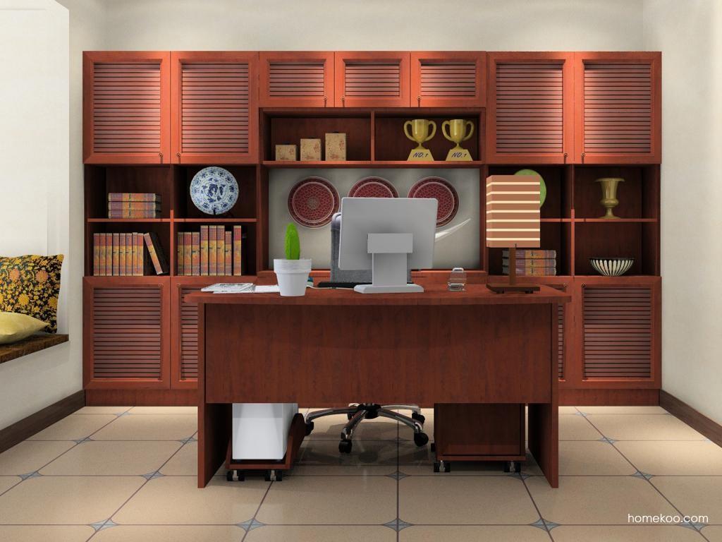 新中式主义书房家具C11041
