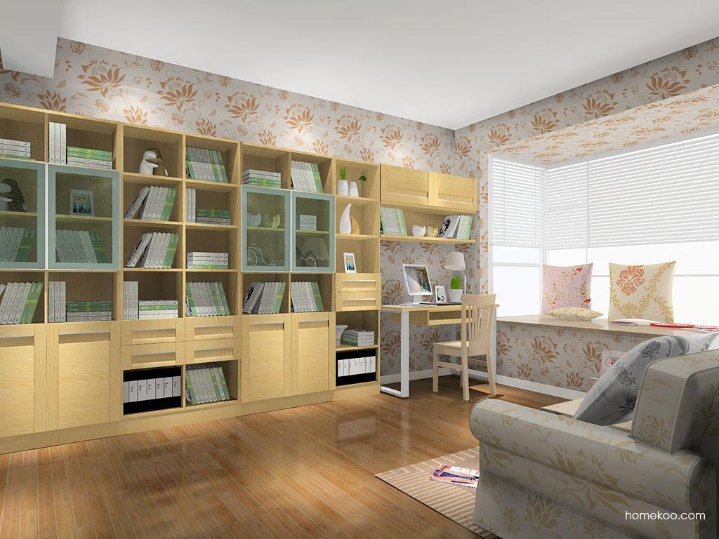 丹麦本色书房家具C11053