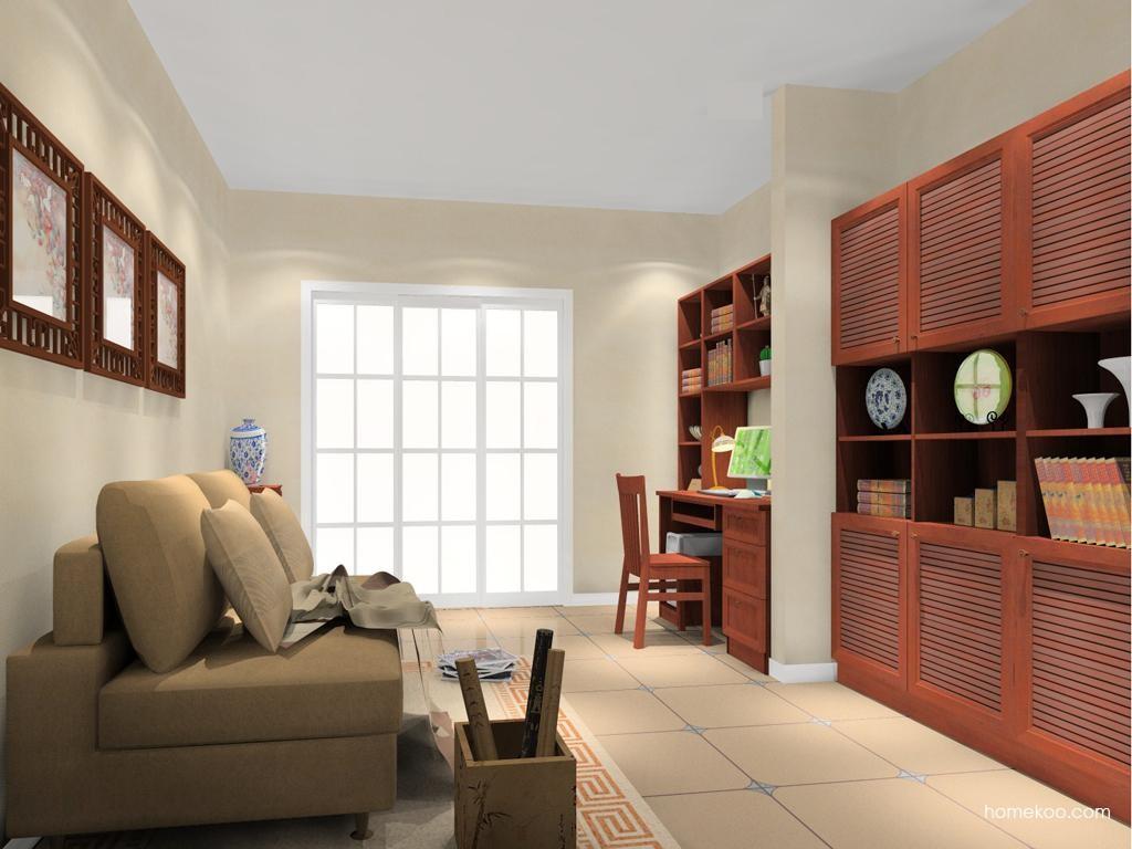 新中式主义书房家具C11061