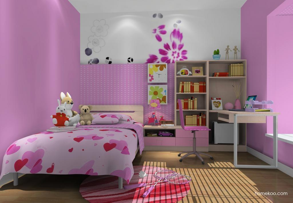 女孩的梦青少年房B11660