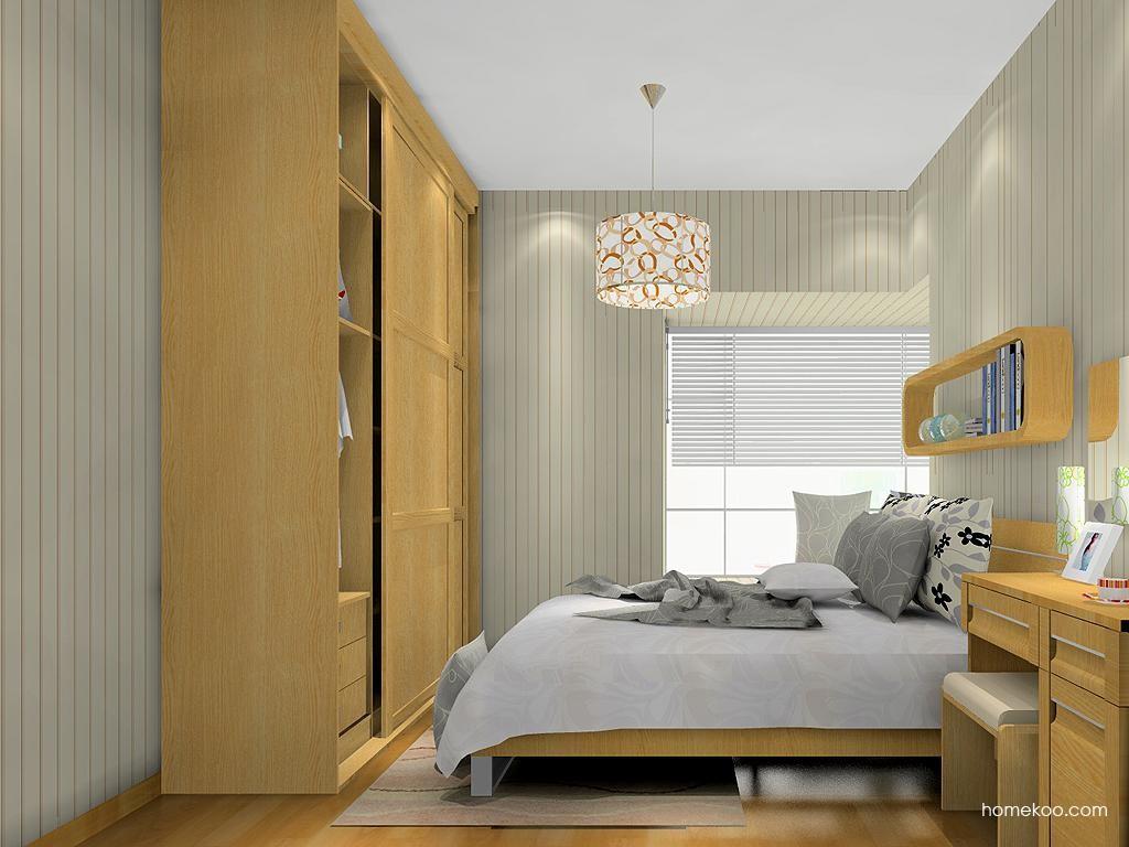 丹麦本色卧房家具A13557