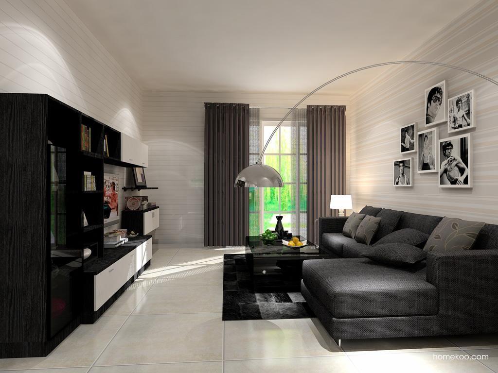 简约主义客厅家具D13457