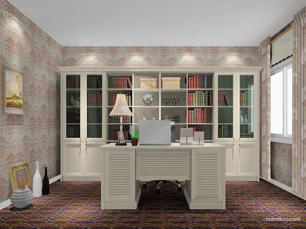 英伦印象书房家具C11070