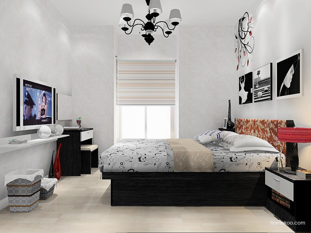 简约主义卧房家具A13573