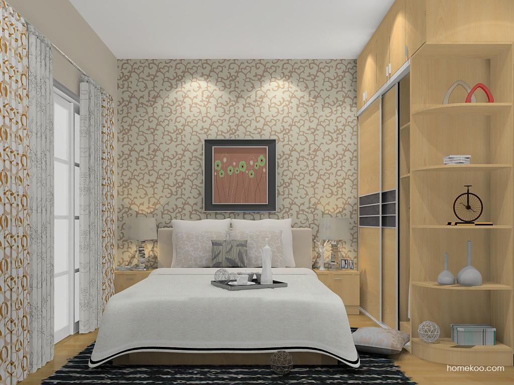 新实用主义卧房家具A13581