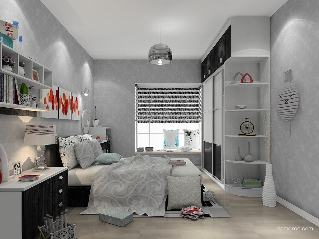 简约主义卧房家具A13583