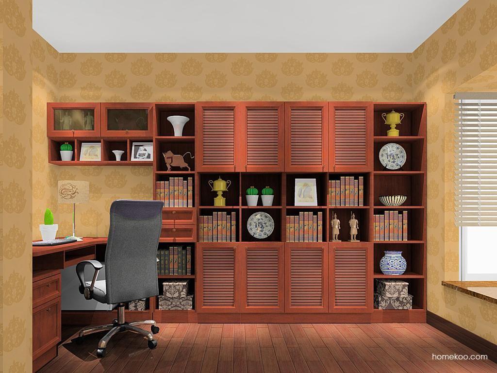 新中式主义书房家具C11091