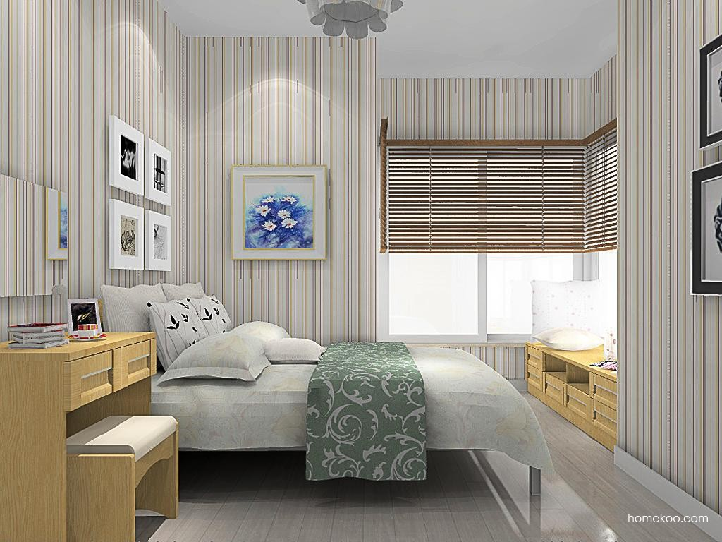丹麦本色卧房家具A13598