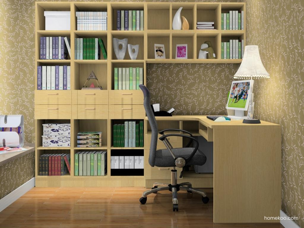 丹麦本色书房家具C11114