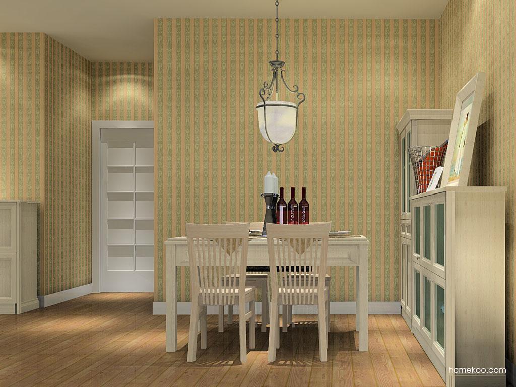 英伦印象餐厅家具E10519