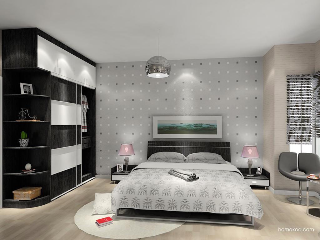 简约主义卧房家具A13609