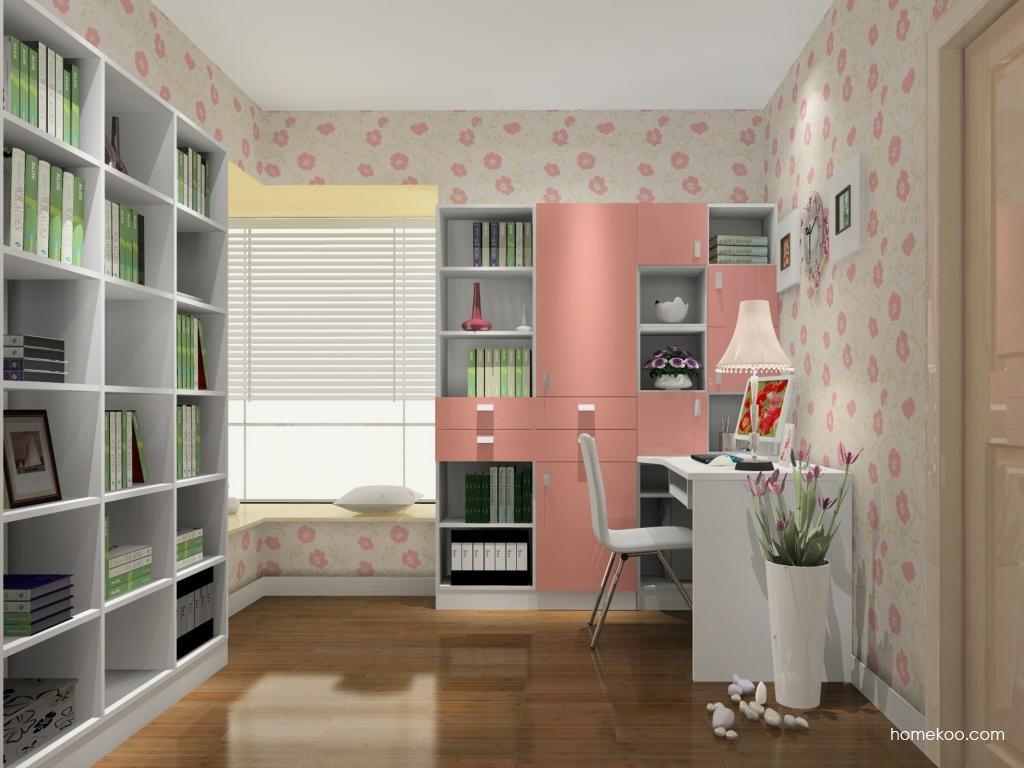 浪漫主义书房家具C11120