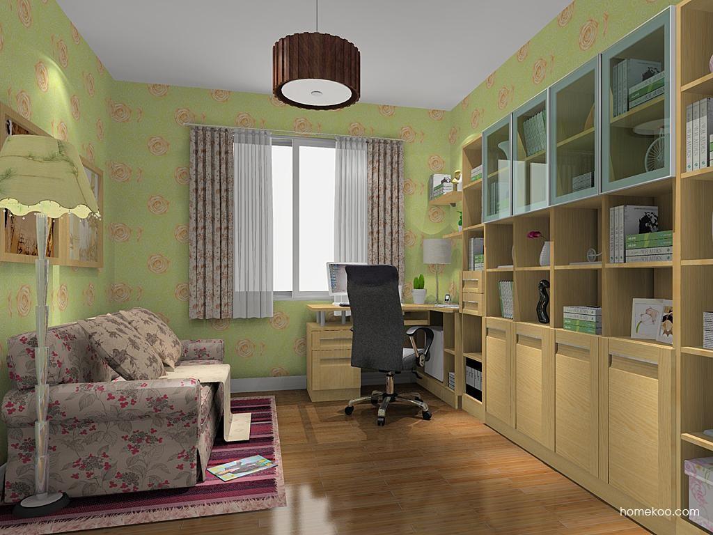 丹麦本色书房家具C11123