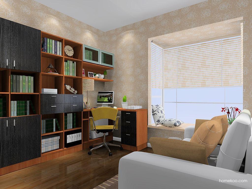 新实用主义书房家具C11141