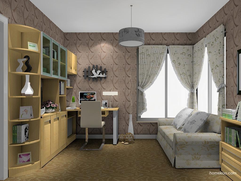 丹麦本色书房家具C11148