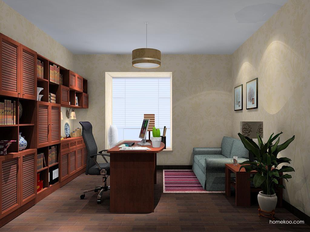 新中式主义书房家具C11149