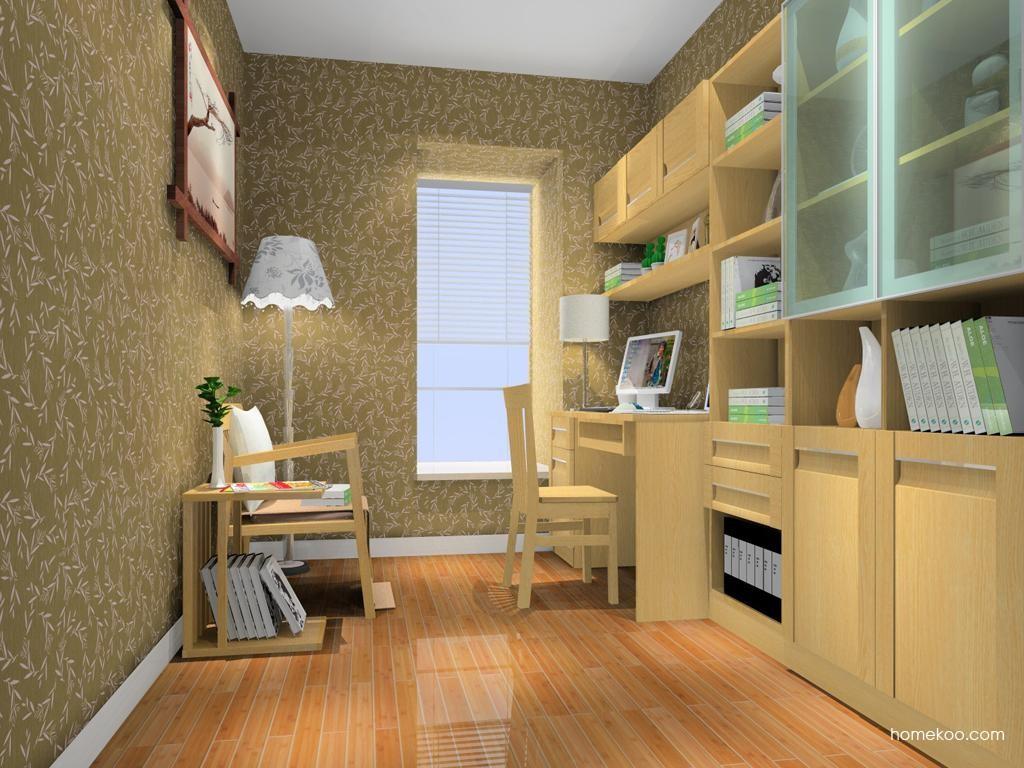 丹麦本色书房家具C11154