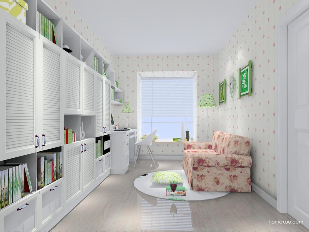 韩式田园书房家具C11162