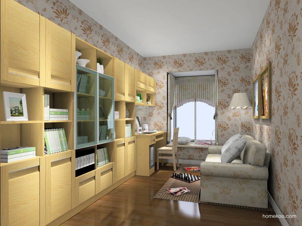 丹麦本色书房家具C11163