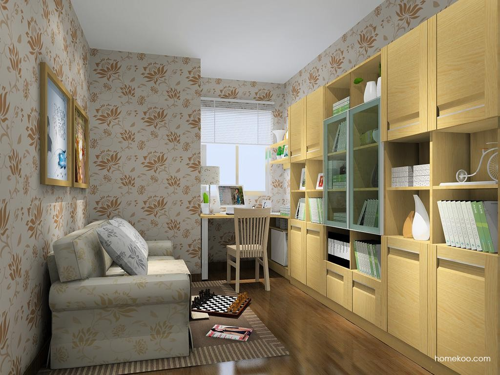 丹麦本色书房家具C11195