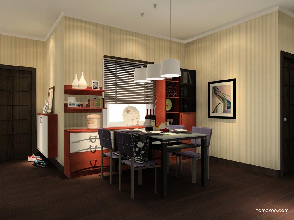 挪威月色餐厅家具E10591
