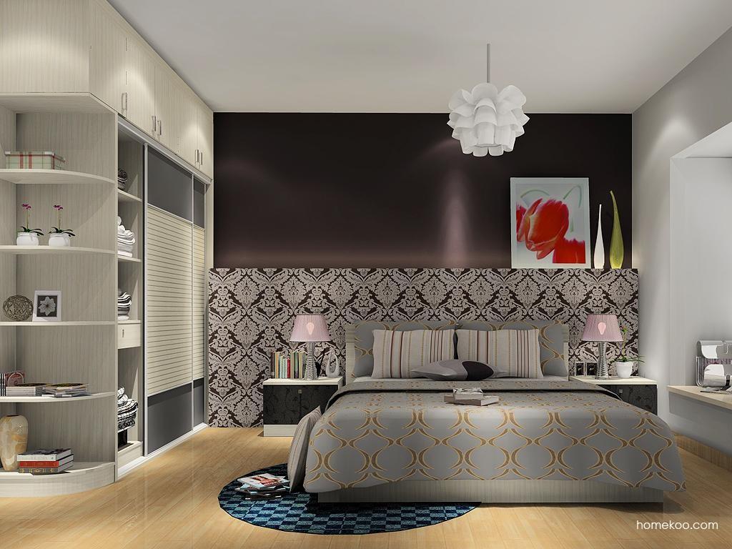 米兰剪影卧房家具A13680