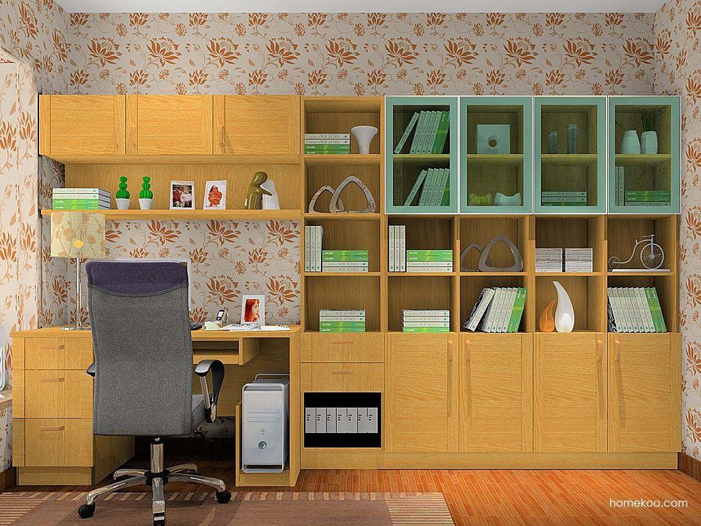 丹麦本色书房家具C11234