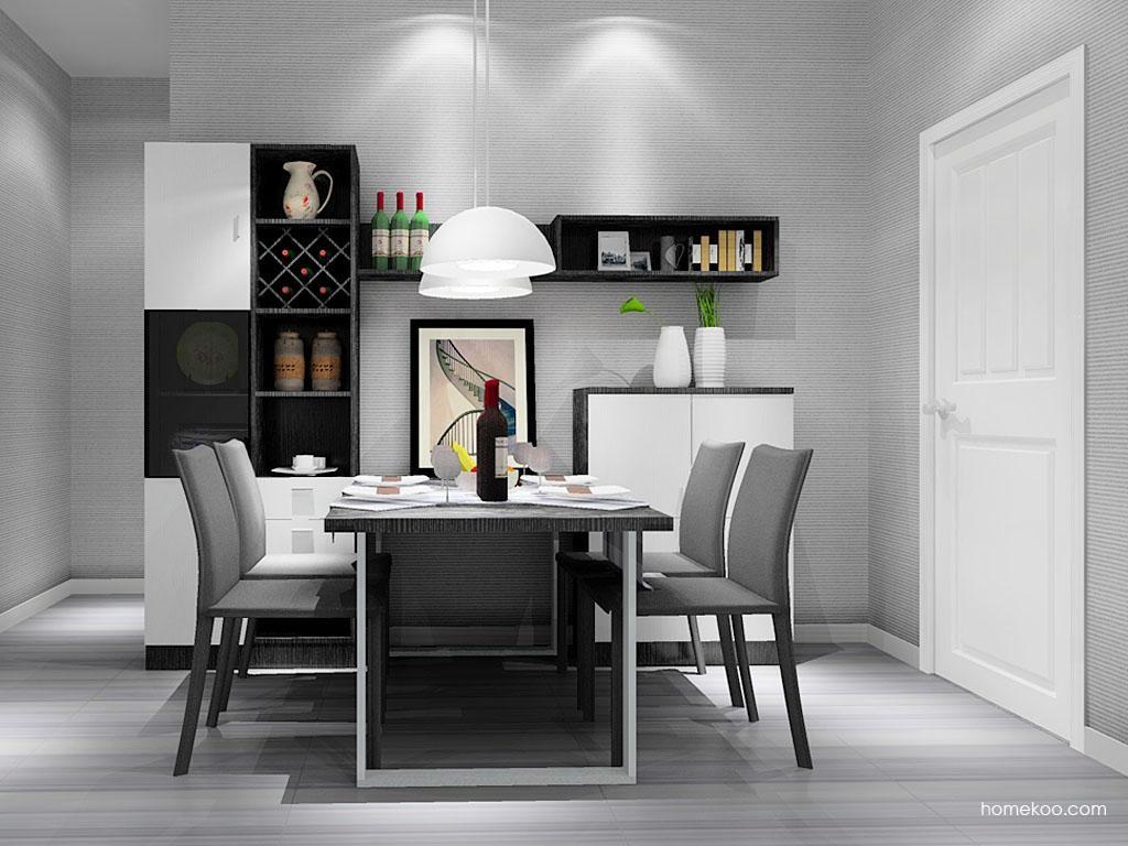 简约主义餐厅家具E10621