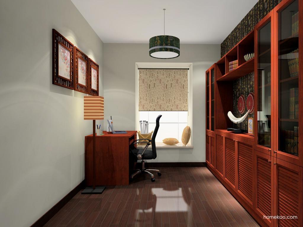 新中式主义书房家具C11246
