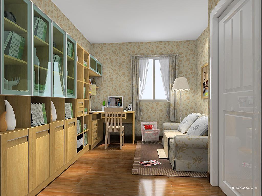 丹麦本色书房家具C11251