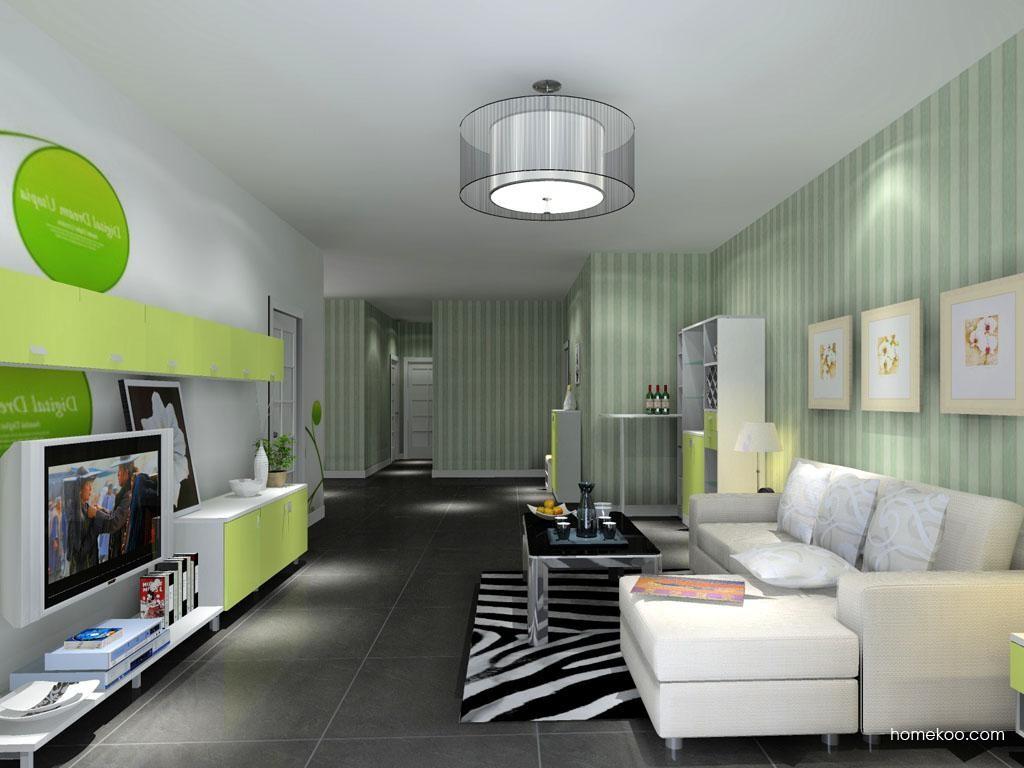 浪漫主义客厅家具D13634