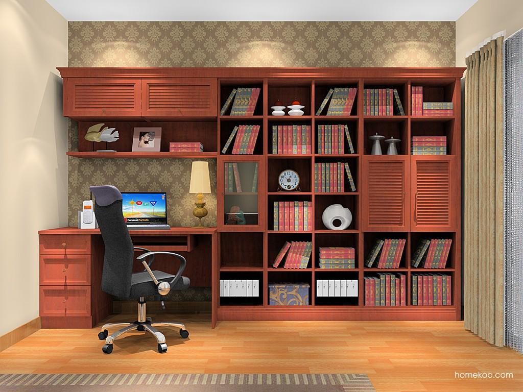 新中式主义书房家具C11312