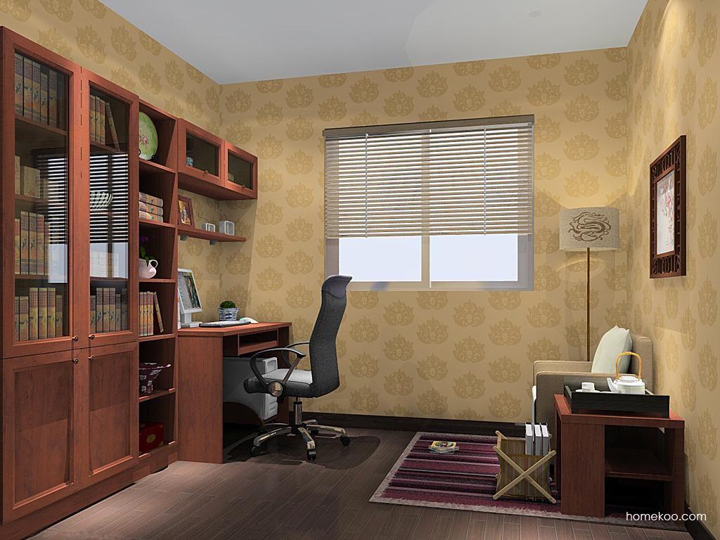 新中式主义书房家具C11299