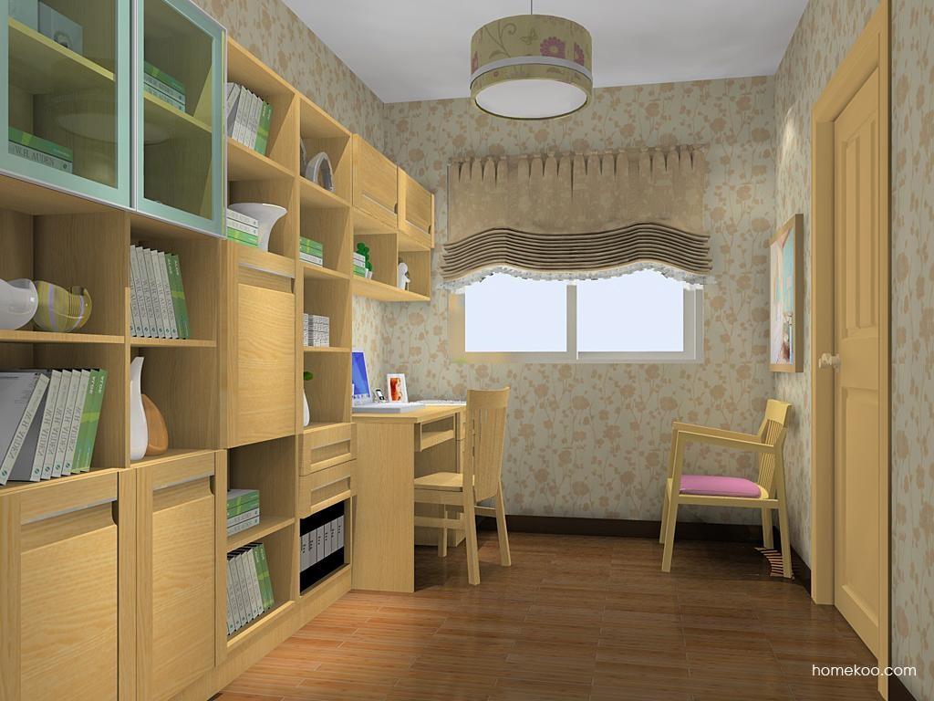 丹麦本色书房家具C11301