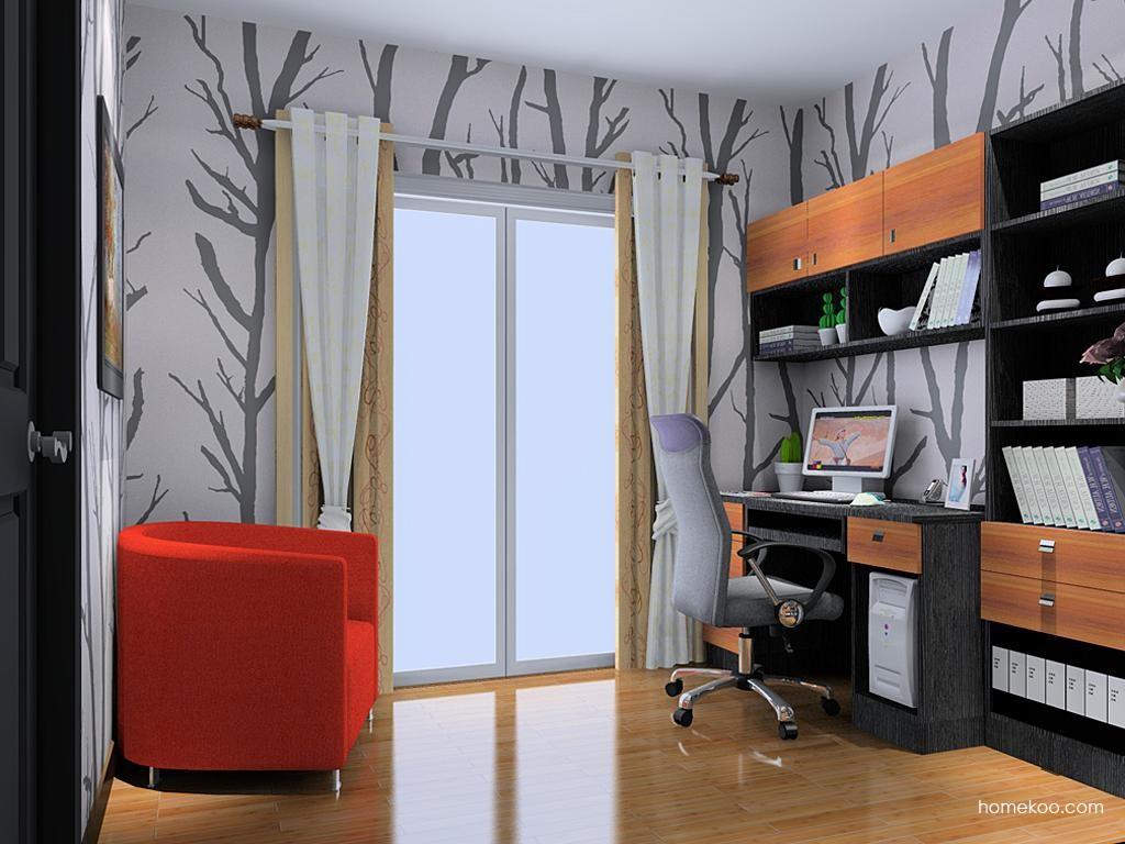 德国森林书房家具C11302