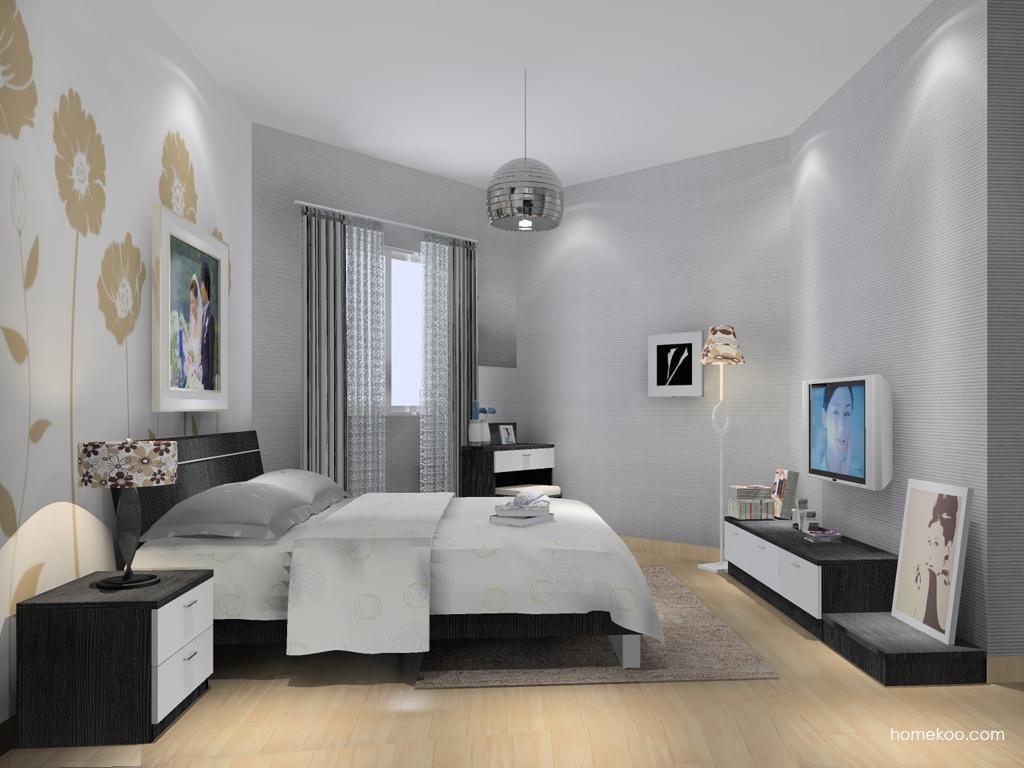 简约主义卧房家具A13754