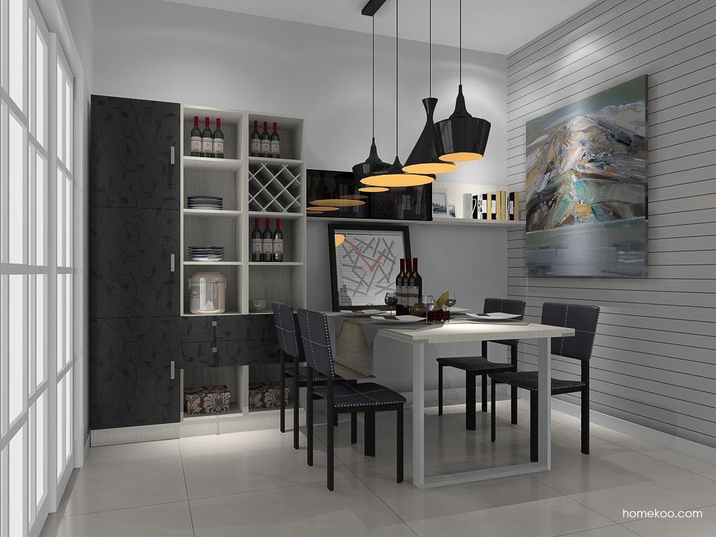 米兰剪影餐厅家具E10639