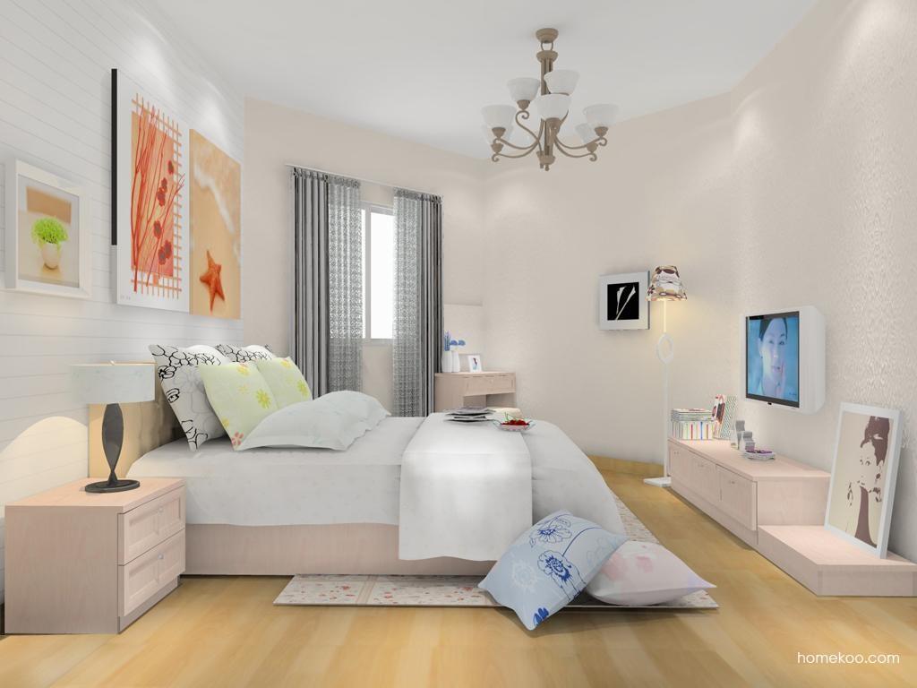 北欧阳光卧房家具A13765