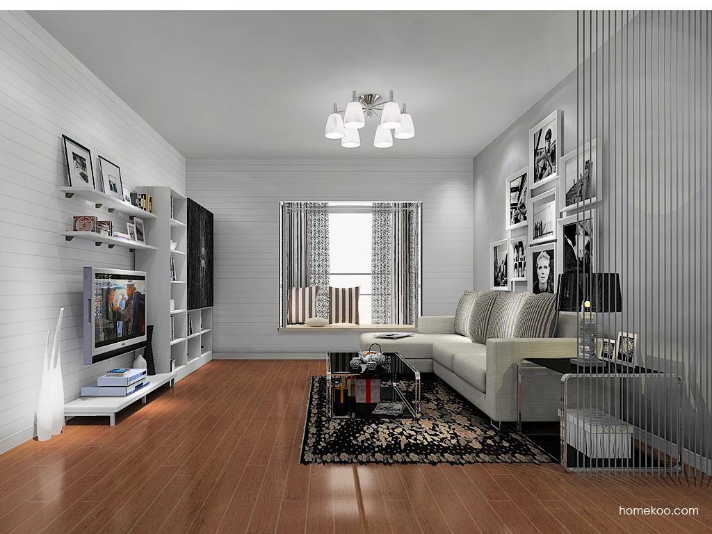 简约主义客厅家具D13645