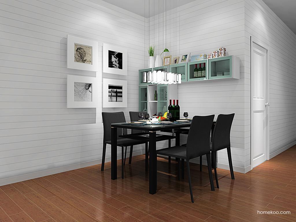 简约主义餐厅家具E10641