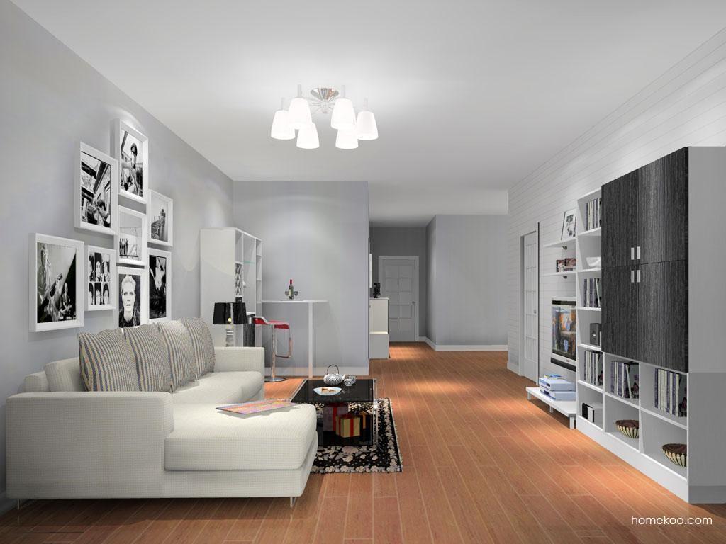 简约主义客厅家具D13647